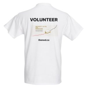 Caribbean Biz Expo volunteer T-shirt back