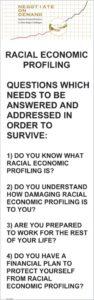 Racial Economic Profiling Banner