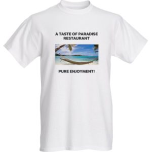 A Taste of Paradise T-shirt front