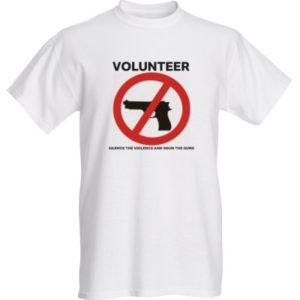 STVASTG volunteer T-shirt front